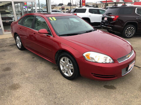 2013 Chevrolet Impala for sale at ROTMAN MOTOR CO in Maquoketa IA