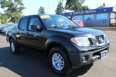 2016 Nissan Frontier for sale at All American Motors in Tacoma WA