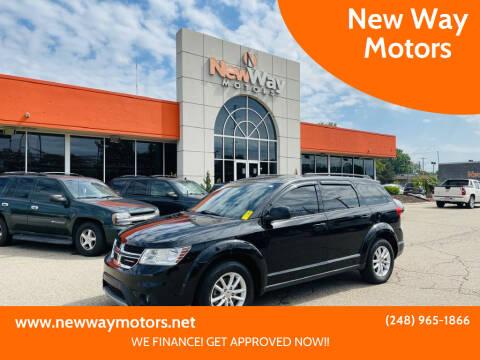 2016 Dodge Journey for sale at New Way Motors in Ferndale MI