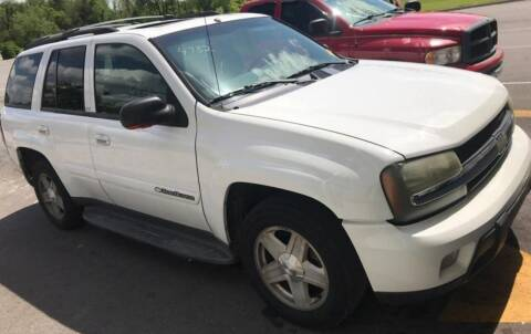 2003 Chevrolet TrailBlazer for sale at D & J AUTO EXCHANGE in Columbus IN