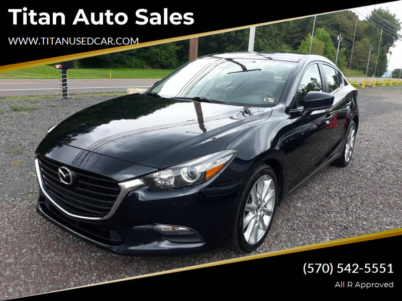 2017 Mazda MAZDA3 for sale at Titan Auto Sales in Berwick PA