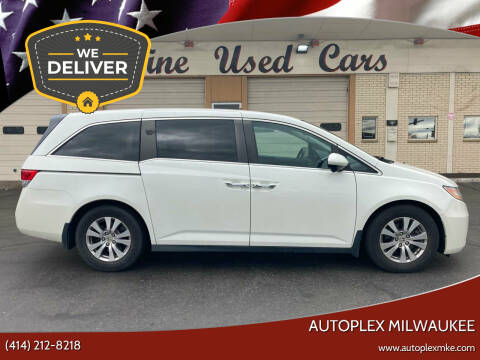 2014 Honda Odyssey for sale at Autoplex 2 in Milwaukee WI