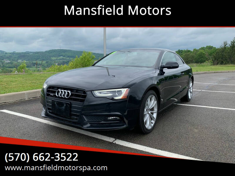 2014 Audi A5 for sale at Mansfield Motors in Mansfield PA