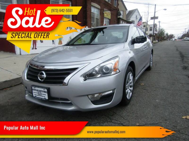 2014 Nissan Altima for sale at Popular Auto Mall Inc in Newark NJ