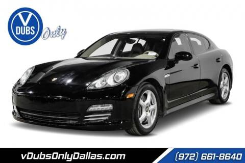 2011 Porsche Panamera for sale at VDUBS ONLY in Dallas TX
