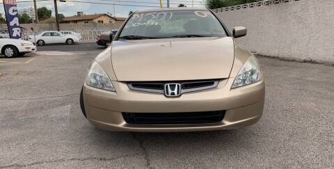 2004 Honda Accord for sale at CASH OR PAYMENTS AUTO SALES in Las Vegas NV