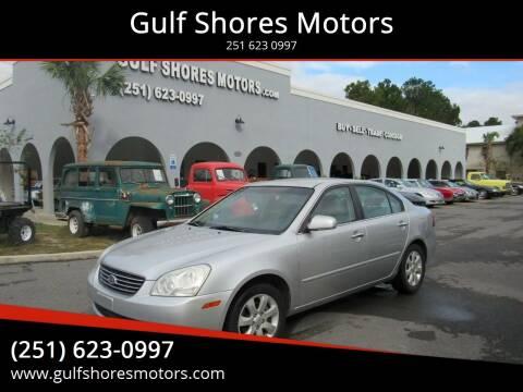 2008 Kia Optima for sale at Gulf Shores Motors in Gulf Shores AL