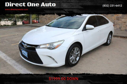 2015 Toyota Camry for sale at Direct One Auto in Houston TX
