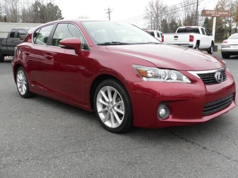 2013 Lexus CT 200h for sale at Brown's Used Auto in Belmont NC