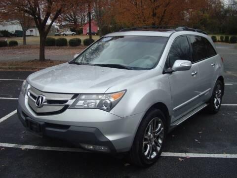 2008 Acura MDX for sale at Uniworld Auto Sales LLC. in Greensboro NC