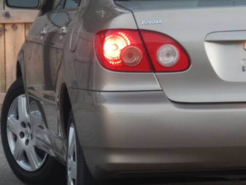 2008 Toyota Corolla for sale at Moto Zone Inc in Melrose Park IL
