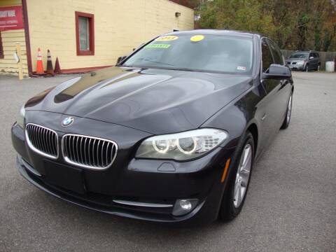 2013 BMW 5 Series for sale at Easy Ride Auto Sales Inc in Chester VA