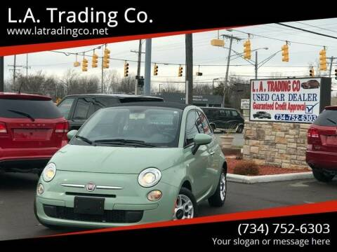 2012 FIAT 500c for sale at L.A. Trading Co. in Woodhaven MI