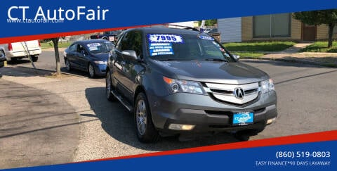 2008 Acura MDX for sale at CT AutoFair in West Hartford CT