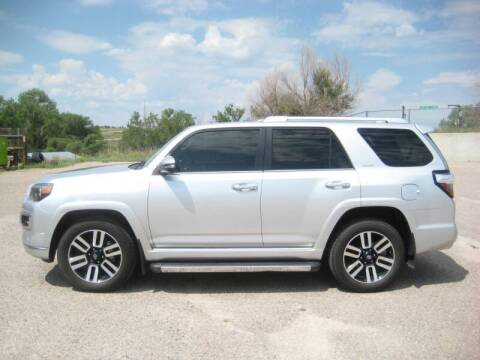 2016 Toyota 4Runner for sale at HOO MOTORS in Kiowa CO