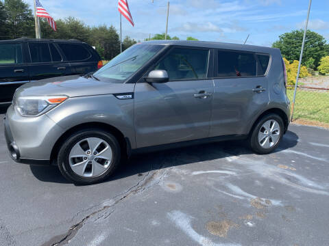2015 Kia Soul for sale at Doug White's Auto Wholesale Mart in Newton NC