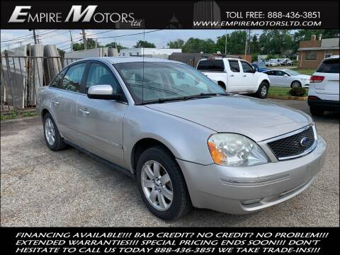2006 Ford Five Hundred for sale at Empire Motors LTD in Cleveland OH