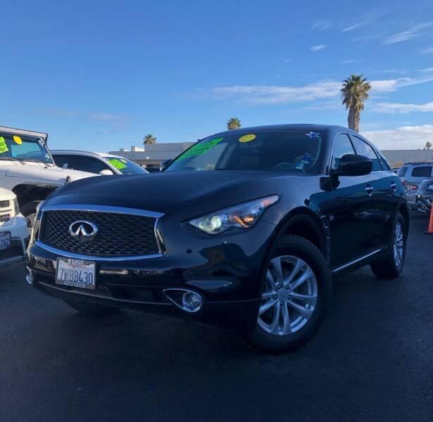 2017 Infiniti QX70 for sale at LUGO AUTO GROUP in Sacramento CA