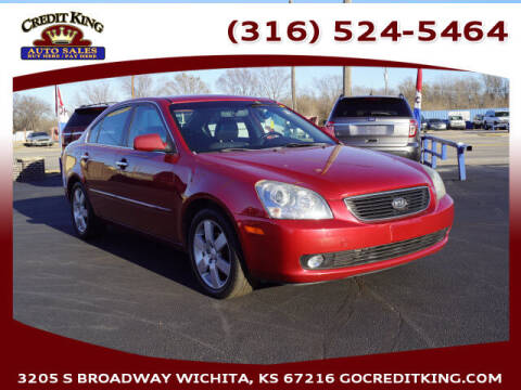 2008 Kia Optima for sale at Credit King Auto Sales in Wichita KS