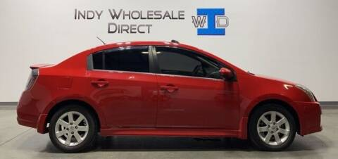 2012 Nissan Sentra for sale at Indy Wholesale Direct in Carmel IN
