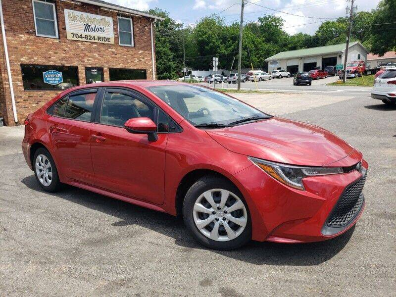 2020 Toyota Corolla for sale at McAdenville Motors in Gastonia NC