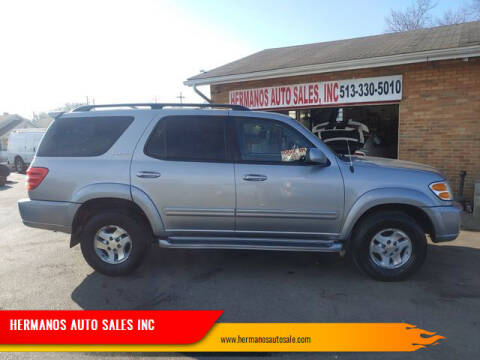 2002 Toyota Sequoia for sale at HERMANOS AUTO SALES INC in Hamilton OH