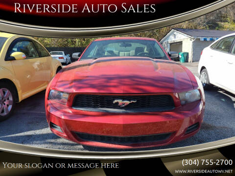2010 Ford Mustang for sale at Riverside Auto Sales in Saint Albans WV