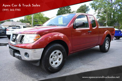 2010 Nissan Frontier for sale at Apex Car & Truck Sales in Apex NC