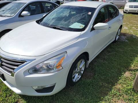 2013 Nissan Altima for sale at Wally's Cars ,LLC. in Morehead City NC