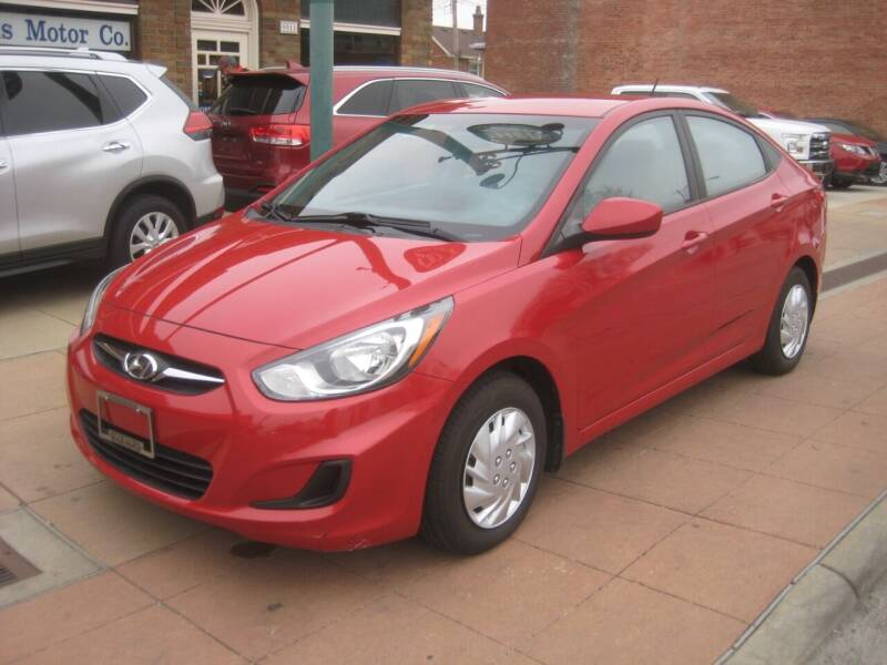 2012 Hyundai Accent for sale at Theis Motor Company in Reading OH