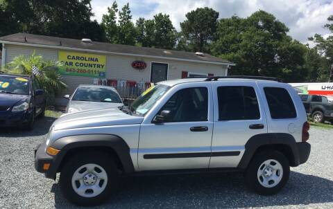 2007 Jeep Liberty for sale at Carolina Car Country in Little River SC