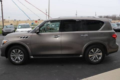 2016 Infiniti QX80 for sale at Ultimate Auto Deals DBA Hernandez Auto Connection in Fort Wayne IN