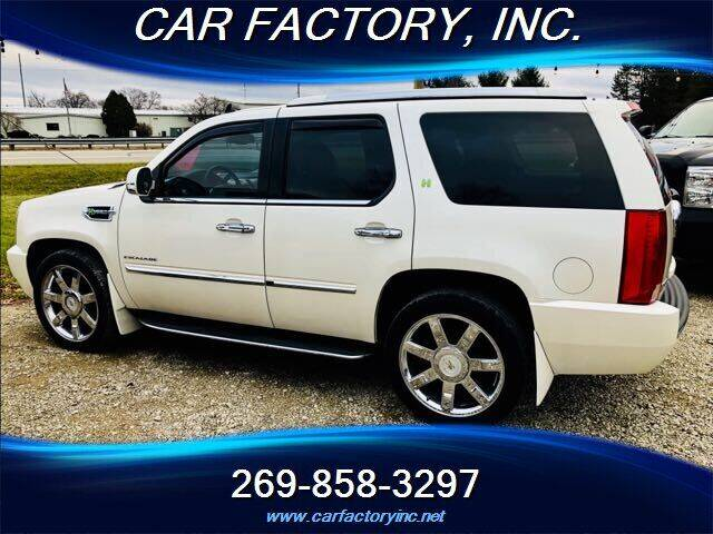 2011 Cadillac Escalade Hybrid for sale at Car Factory Inc. in Three Rivers MI