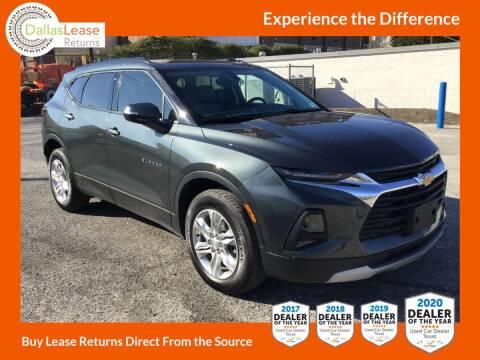 2020 Chevrolet Blazer for sale at Dallas Auto Finance in Dallas TX
