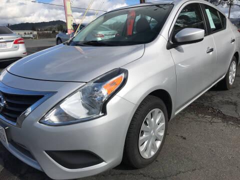 2018 Nissan Versa for sale at AutoDistributors Inc in Fulton CA