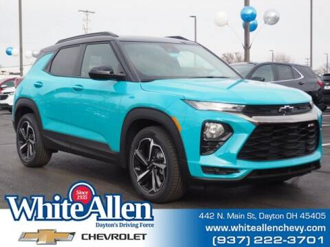 2021 Chevrolet TrailBlazer for sale at WHITE-ALLEN CHEVROLET in Dayton OH