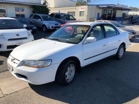 1998 Honda Accord for sale at Ricos Auto Sales in Escondido CA