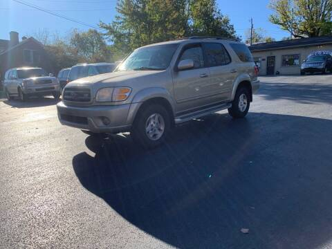 2003 Toyota Sequoia for sale at KP'S Cars in Staunton VA