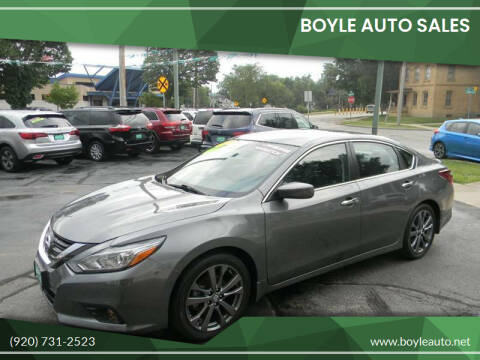 2018 Nissan Altima for sale at Boyle Auto Sales in Appleton WI