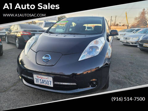 2014 Nissan LEAF for sale at A1 Auto Sales in Sacramento CA
