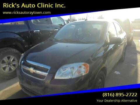2011 Chevrolet Aveo for sale at Rick's Auto Clinic Inc. in Raytown MO