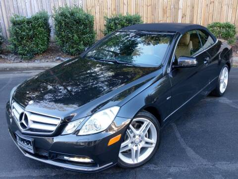 2012 Mercedes-Benz E-Class for sale at Mich's Foreign Cars in Hickory NC