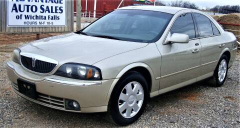 2004 Lincoln LS for sale at Advantage Auto Sales in Wichita Falls TX