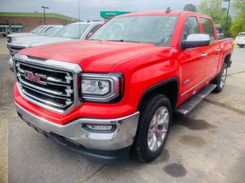 2018 GMC Sierra 1500 for sale at BRYANT AUTO SALES in Bryant AR