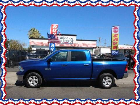 2017 RAM Ram Pickup 1500 for sale at American Auto Depot in Modesto CA
