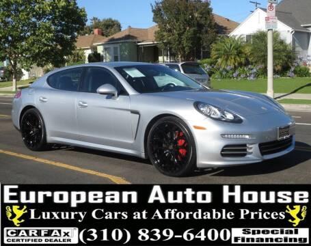 2014 Porsche Panamera for sale at European Auto House in Los Angeles CA
