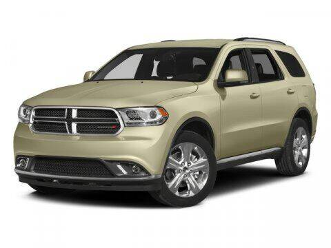 2015 Dodge Durango for sale at Hawk Ford of St. Charles in St Charles IL