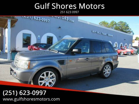 2008 Land Rover Range Rover Sport for sale at Gulf Shores Motors in Gulf Shores AL