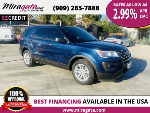2017 Ford Explorer for sale at Miragata Auto in Bloomington CA