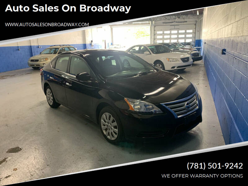 2013 Nissan Sentra for sale at Auto Sales on Broadway in Norwood MA